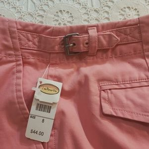 Talbots Shorts - NWT Coral Pink Below-Knee Shorts, Talbot's, Sz 8
